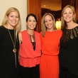 Brandi Chilian, Taryn Cooper, Alissa Gearing, Lizzie Bailey, trains at northpark sponsor party
