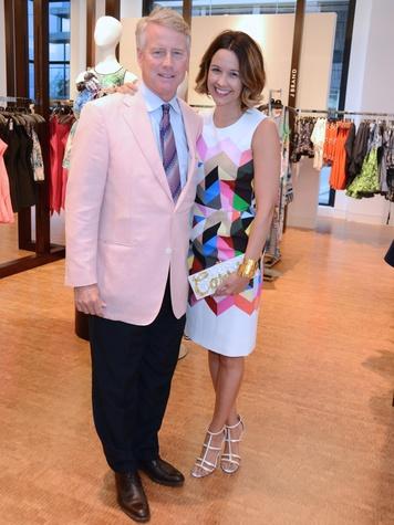 7 Bob Hogan and Carrie Colbert at Fashion Gene at Tootsies May 2014