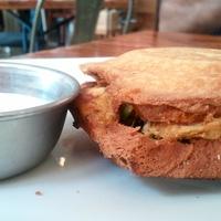 Pondicheri, chicken toaster, sandwich