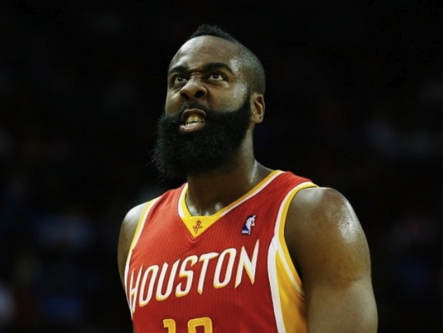 James Harden upset