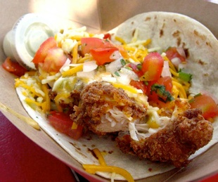 Torchy's Tacos Trailer Park Tasry with queso