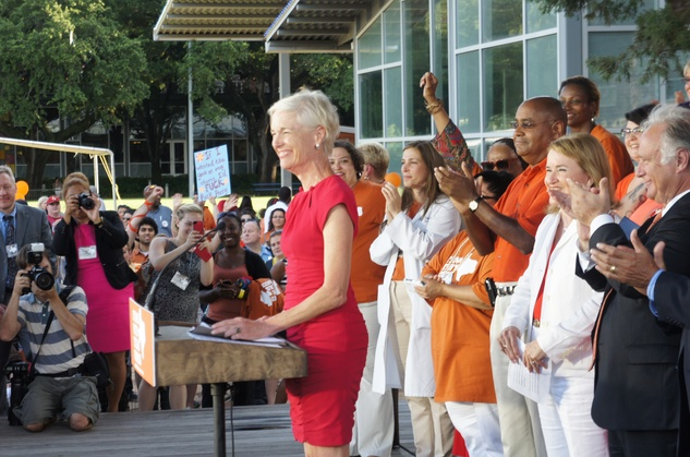 Stand With Texas Women Discovery Green Cecile Richards