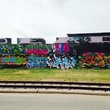 East fourth graffiti wall