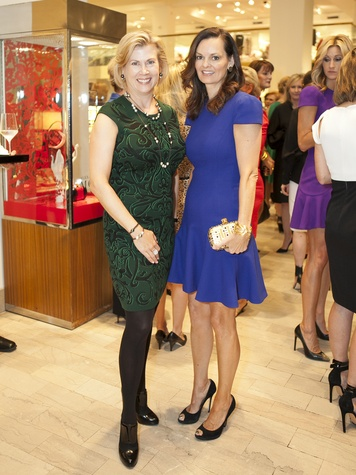 Tamara Bickel, Kim Miller, Crystal Charity Ball, Alexander McQueen