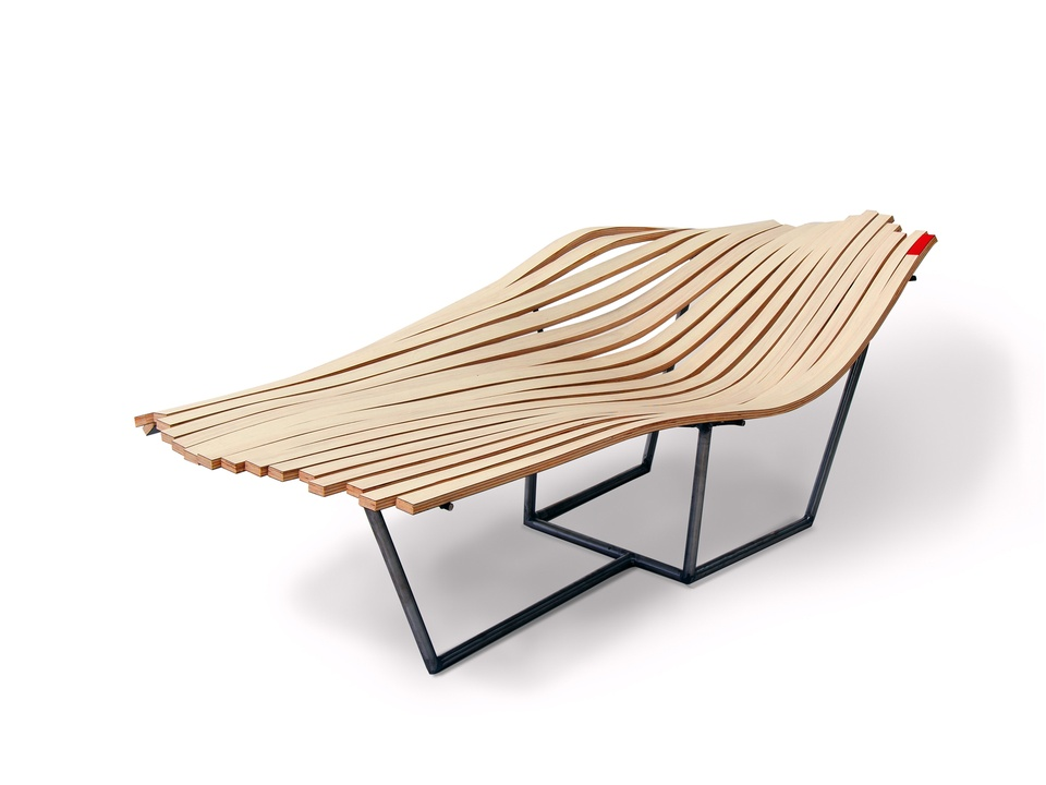 Wilsonart Challenges Student Chair Design Competition September 2014 Lowland by Aaron McEue