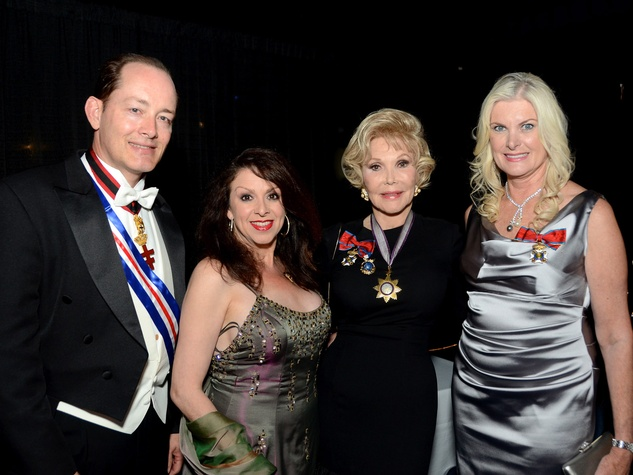 50 Geoff Connor, from left, Cammie Jones, Joanne King Herring and Mica Mosbacher at the Consular Ball October 2013