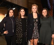 Robin Mohan, Rachel Weir, Kathleen Mundy, Emily Glassel