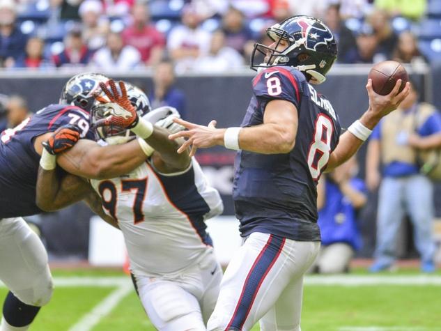 Matt Schaub Texans Broncos