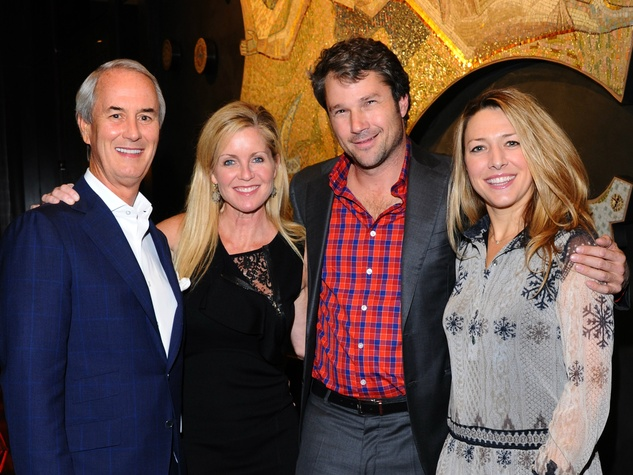 John Eagle, Jennifer Eagle, Alden Pinnell, Janelle Pinnell at Nasher 10th anniversary