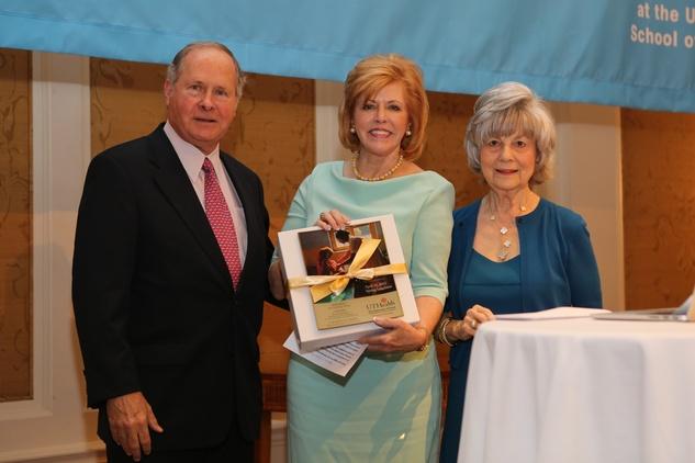 Houston, News, Shelby, Partners Luncheon, April 2015, Ralph and Bette Thomas, Peggy Barnett
