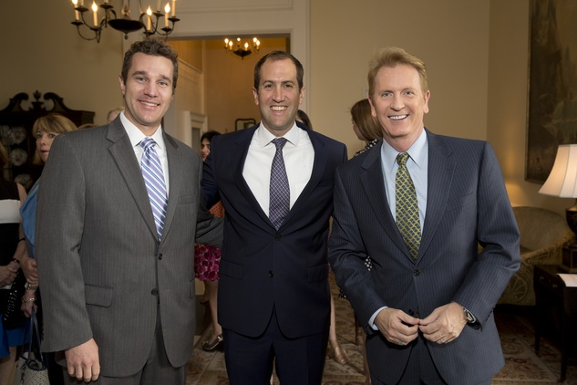 Houston, Spaulding for Children Luncheon, May 2015, Joe Lyons, John Montgomery, Frank Billingsley