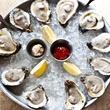 Oysters on the Half Shell at Tony Mandola's