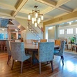 Dining room at 701 S. Clinton Ave. in Oak Cliff