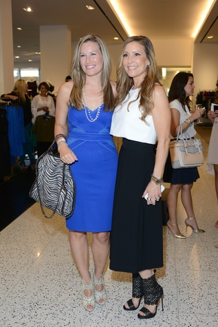 Bethany Buchanan, left, and Laurel Berman at the WOW Summer Soiree August 2014