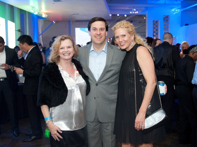 Junior League Viva Big D party 2018, Ginger Sager, Cole Dulaney and Suzanne Dulaney