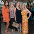 009_Houston Restaurant Weeks, kickoff party, July 2012, Laureen Lucas, Frances Elliott, Maril Lowe, Lauren Alford