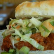 Bradley's Fine Diner Sloppy Joe Biscuit Slider