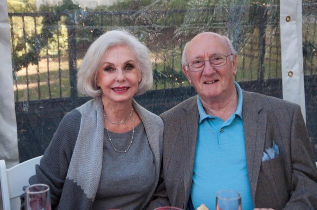 15 Susanne Jackson and David King at the ROCO Yuletide Concert at Bayou Bend December 2014