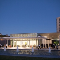 The Garden Pavilion at the Hermann Park Centennial Gardens inaugural dinner October 2014