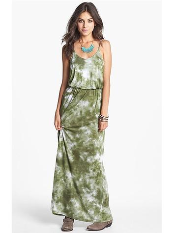 nordstrom Lush Knit Tie Dye Maxi Dress