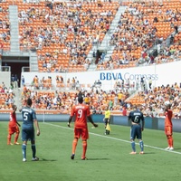 BBVA Compass stadium Dynamo side shot