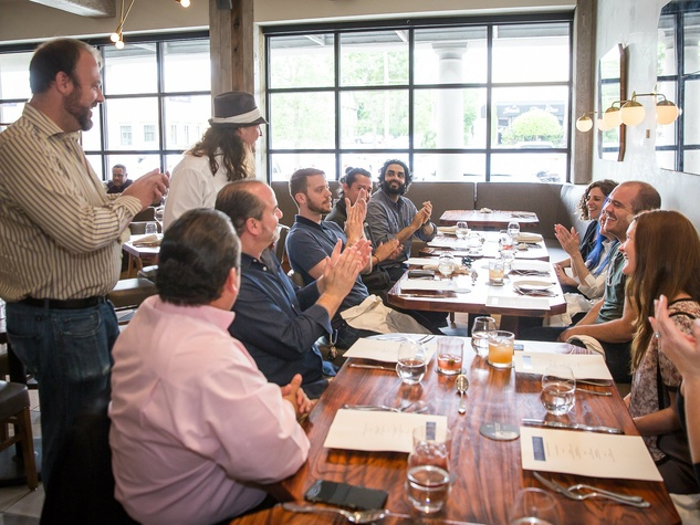 Tastemaker Awards 2016 bartender lunch with Herradura