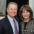 31 Steve Lasher and Janiece Longoria at the Houston Heritage Society luncheon April 2014