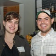 3 Samantha Vacanti and Jason Cantu at the Preservation Houston Young Professionals party November 2013