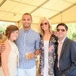 Megan Moon, from left, Jordan Claiborne, Brittany Wilkins and Nick Espinosa at Houston's Young Professionals Flock to a Beastly Brunch at the zoo February 2015