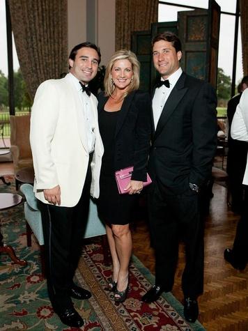 9 CancerForward Houston Gala May 2013 Jason Kaminsky, Anne Carl, Kenady Davis