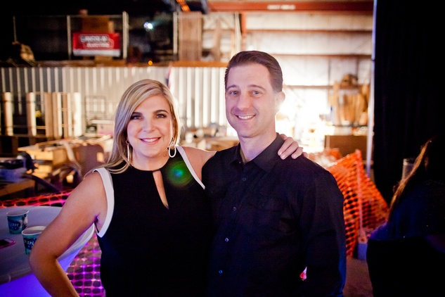 Yvette and Scott Hill at HAA Iluminación November 2014