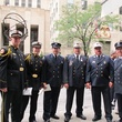 News_Katie_9-11_Firemen outside Cathedral_after special service