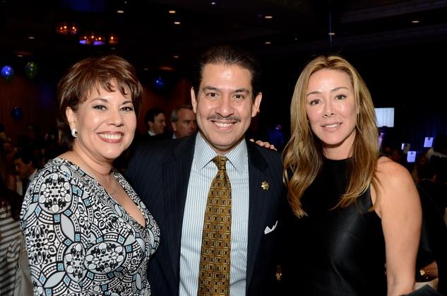 News, KIPP Academy gala, April 2015, Monica Garcia, Adrian Garcia, Claudia Contreras,