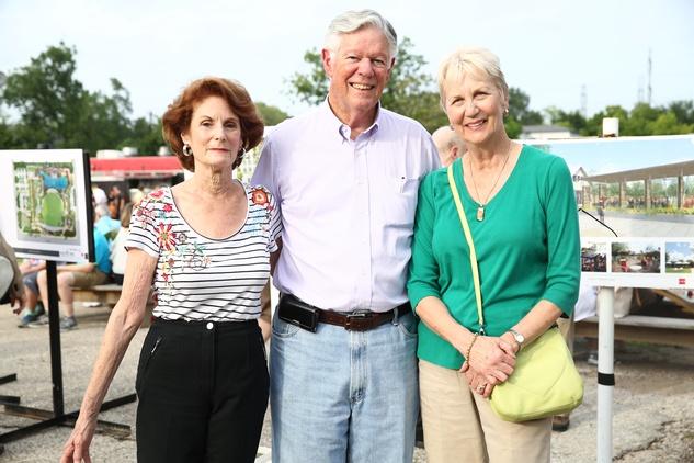 News, Shelby, Evelyn's Park Groundbreaking, june 2015, State Rep Sarah Davis-Cheryl Bright-West_Photo
