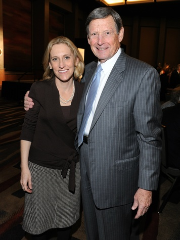 Nicole Small, Forrest Hoglund, national philanthropy day awards