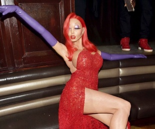Heidi Klum Jessica Rabbit Halloween costume