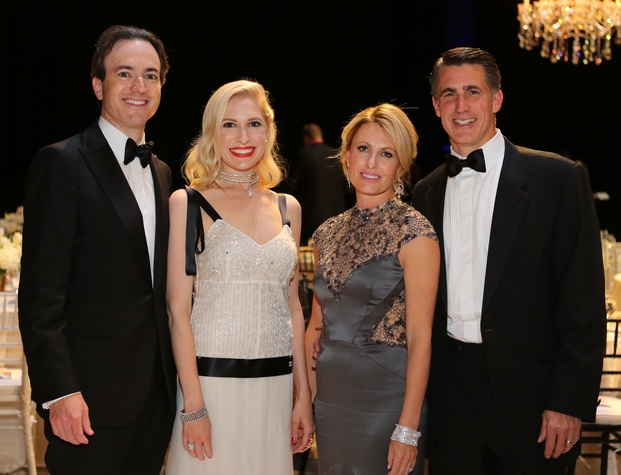Mercury Gala, April 2016, Danny David, Isabel David, Carolyn Tanner, Garry Tanner