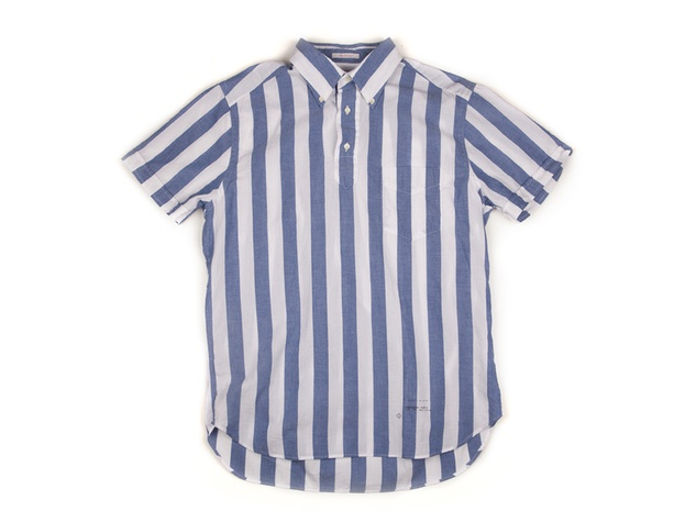 where to shop right now Houston June 2013 Gant striped pullover in blue and white