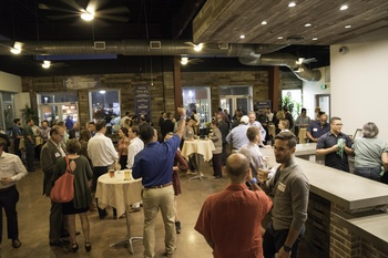 Raise a pint glass while building community at hot Houston gathering