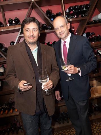 49 Ugo Tombolini, left, and Antonio Marziale at Zadok's F.P. Journe dinner November 2013