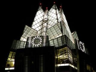 Austin Photo: places_unique_frost bank tower_night