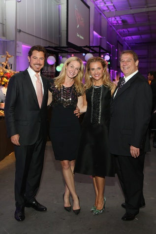 Ian and Kathryn Fay, from left, and Mary and Mark D'Andrea at the March of Dimes Signature Chefs event October 2014