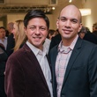 13 Nick Espinosa, left, and Carlos Meltzer at the Lynn Goode Vintage opening reception March 2014