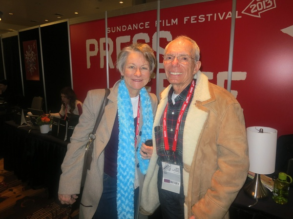 Houstonians at Sundance, January 2013, Jane Howze, John Mann