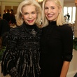 14 Lynn Wyatt, left, and Isabel David at the CancerForward luncheon November 2013