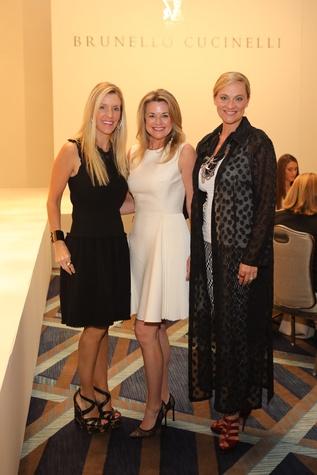 Michelle Smith, Millette Sherman, Rachel Regan at Best Dressed Luncheon 2017