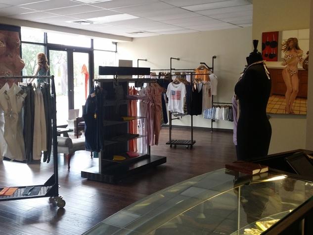Wardrobe boutique interior