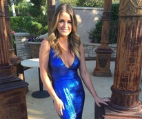 Jay Godfrey/JoJo Blue Dress