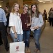 Houston, Saint Bernard opening party, April 2016, Brandi Armstrong, Maria-Eleni Koinis, Sarah Schmidt
