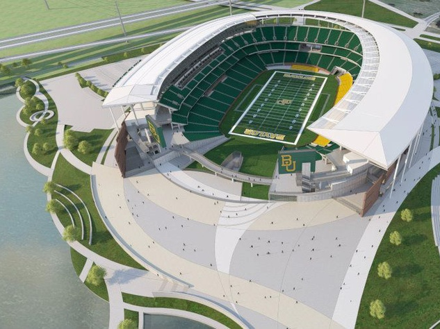 New Baylor Stadium